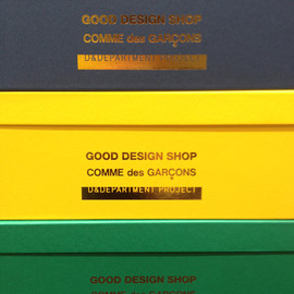 COMME des GARÇONS D&Department GOOD DESIGN SHOP - shoes box