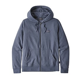 patagonia - Men's P-6 Label Lightweight Full-Zip Hoody, Dolomite Blue (DLMB )