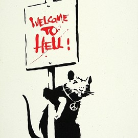 BANKSY - WELCOME TO HELL