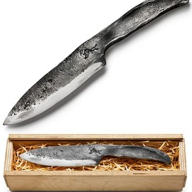 Lüneburg Black Forge one piece knife