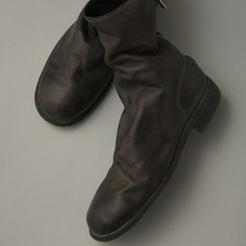 GUIDI - Back Zip Boots <SHOES and THINGS>