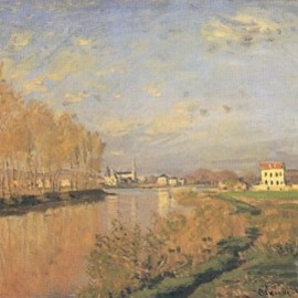 MONET - The Seine at Argenteuil