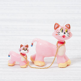 OLGA GOOSE CANDLE - PINK CATS