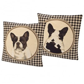 The French Bedroom Company - French Bulldog Cushion