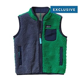 patagonia - Baby Limited Edition Retro-X Vest / Prussian Blue PRB