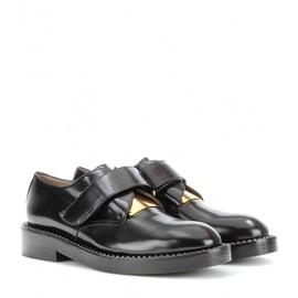 MARNI - LEATHER LACELESS OXFORDS