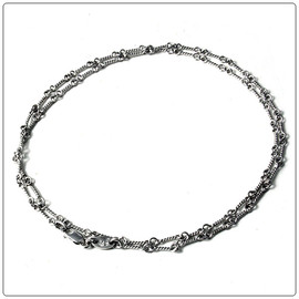 chrome hearts - K18 white gold twist chain 20inch