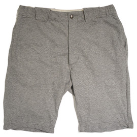 Engineered Garments - Byron Short,Heather Grey French Jersey