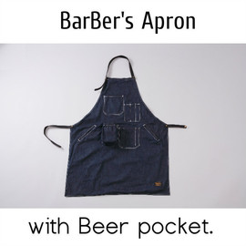 Barber&Apparel 中村商店 - BarBer's Denim Apron.