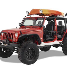 Jeep - Wrangler Safari Water Craft Rack