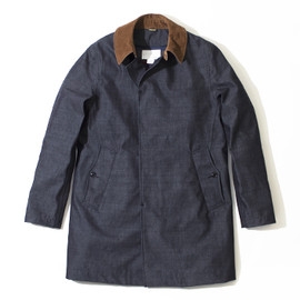 nanamica - GORE-TEX® Soutien Collar Coat with Lining