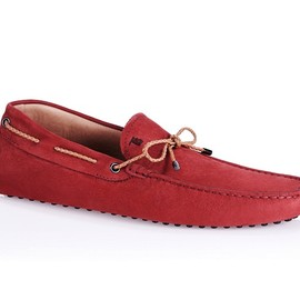 TOD'S - Gommino Driving Shoe with Front Tie