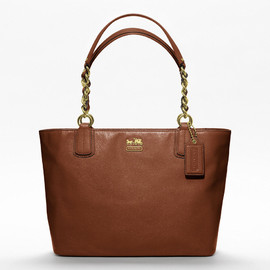 Coach - new madison leather large tote