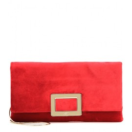 Roger Viver - Ines suede clutch
