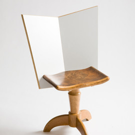 Martino Gamper - Swivel Chair2008Melamine faced chipboard and re-used furniture elements 60 x 50 x 82cm