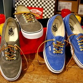 Vans - Authentic/Washed