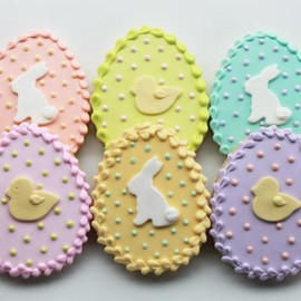whipped bakeshop - Easter Sugar Egg Cookie Gift Box