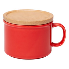ideaco - canister mug S レッド