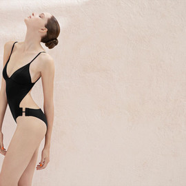 + Véronique Leroy Mark convertible bandeau swimsuit