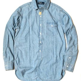 Polo by Ralph Lauren - Round-Collar Chambray Shirt