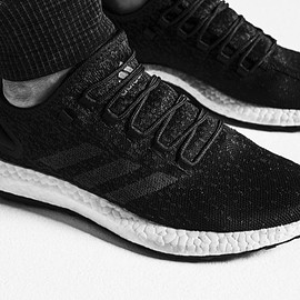 Reigning Champ, adidas - Pure Boost - Core Black/Footwear White?