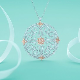 Tiffany & Co. - jewelry inspired by the ornate patterns of garden gates