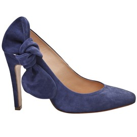 CARVEN - Side bow slingback pump