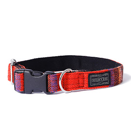 "HEAD PORTER - ""LESSON"" DOG COLLAR (M) RED"