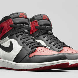 Jordan Brand - Air Jordan 1 Retro Hi OG - Gym Red/Black/Summit White