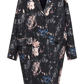 MSGM - Pre-Fall2014 Printed Wool Coat