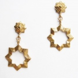 Chibi Jewels - 【Chibi Jewels】Moroccan Star Earring[Gold]