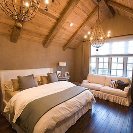 bedroom/Rustic Glamour