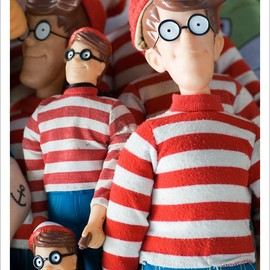 Mattel - Where's Walld Wally Wanda Toys ウォーリーを探せ