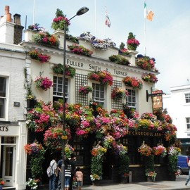 london - The Churchill Arms
