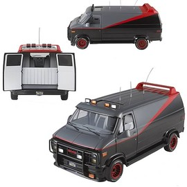 Mattel - A-Team Classic Van Hot Wheels Elite 1:18 Scale Vehicle