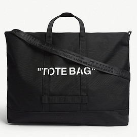 Off-White - Quote tote bag