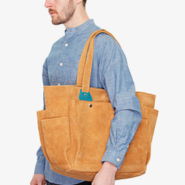 hobo - SUEDE LEATHER TOOL BAG
