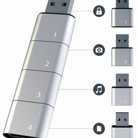 Amoeba - Modular USB Flash Drive