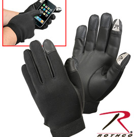ROTHCO - TOUCH SCREEN SYNTHETIC RUBBER DUTY GLOVES