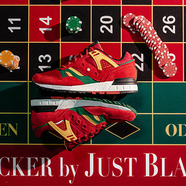 """Saucony, Packer Shoes, Just Blaze - Grid SD """"Casino"""""""