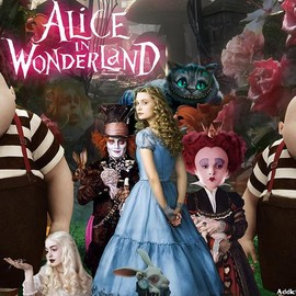 Tim Burton - Alice in wonderland