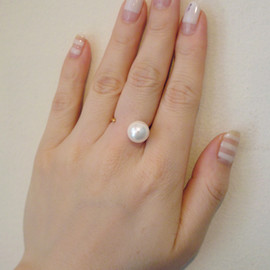 NIS - toy line ring パール