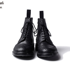 SOPHNET. - trickers wing tip boots