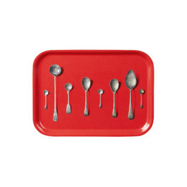 Liberty London - Red Spoon Print Tray