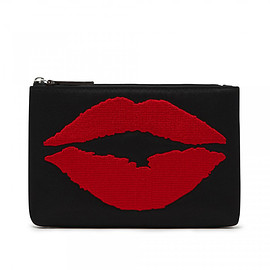 Lulu Guinness - Lip Blot Top Zip