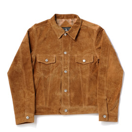 bal, CYDERHOUSE - SUEDE TRUCKER JACKET by CYDERHOUSE