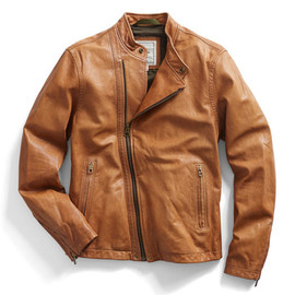 Todd Snyder - Brown Moto Leather Jacket