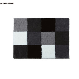 uniform experiment - GRAY CHART WELCOME RUG MAT