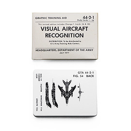 U.S.ARMY - Visual Aircraft Recognition Cards /  航空機識別認識用カード