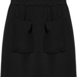 miu miu - High-waisted cady mini skirt